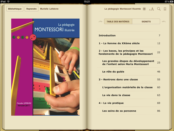 La version pour iPad