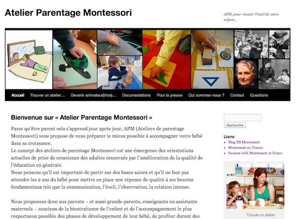 Ateliers de Parentage Montessori (APM)
