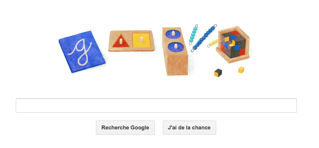 142ème anniversaire de Maria Montessori