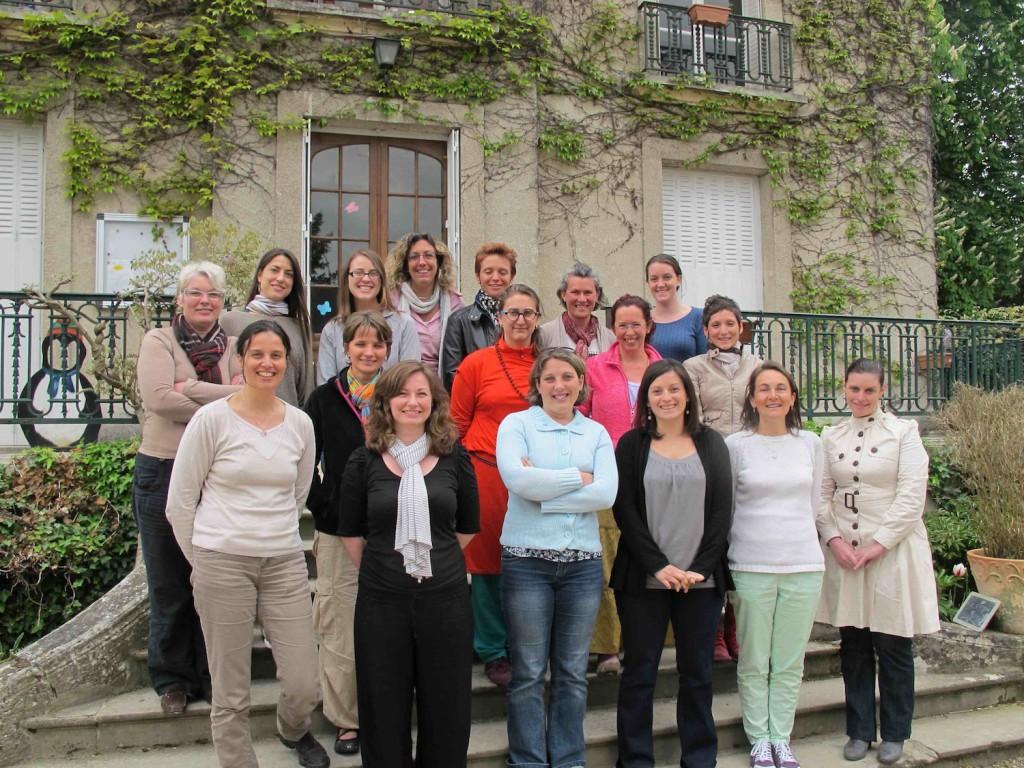 Une photo du groupe de stagiaires de cette semaine...