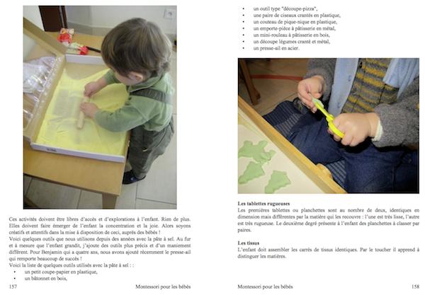 Montessori pour les bébés - Murielle Lefebvre