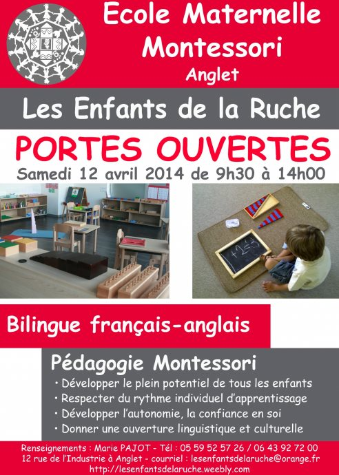 école Montessori d'anglet